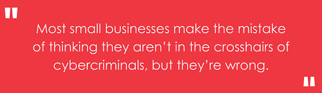 quote about small businesses and cyber criminals
